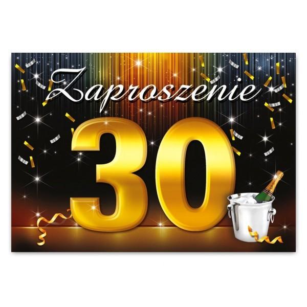 Zaproszenie Na 30 Urodziny Zx6802